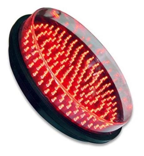 Lampara Led Para Semaforo Vial De 300mm Vehicular Color Rojo