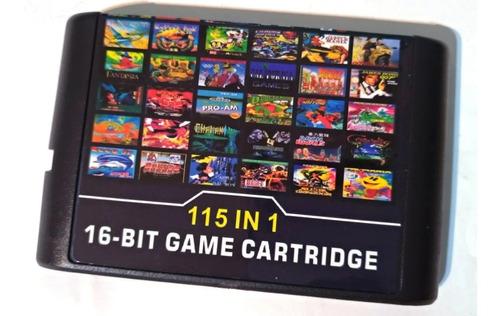 Cartucho Sega 115 En 1 Sin Repetir! Local A La Calle En Once