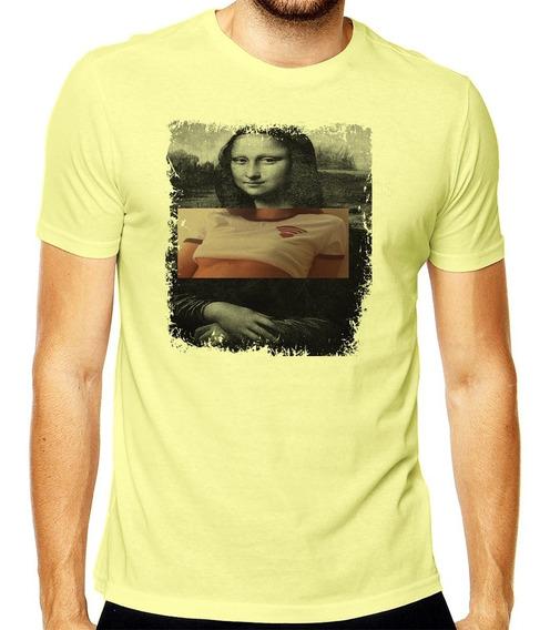 Camiseta Monalisa Art Tumblr Sexy Mod 001