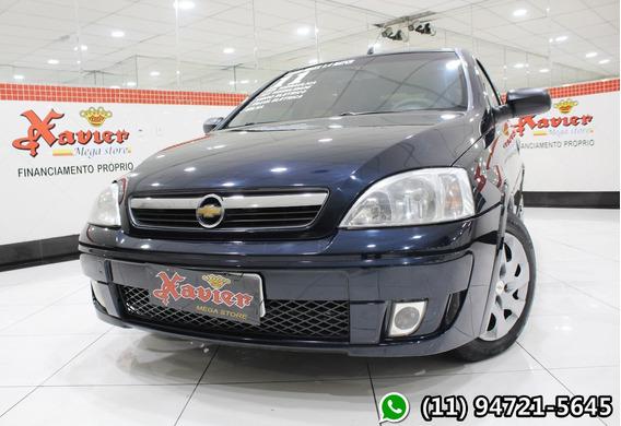 Corsa Maxx 1.4 Hatch Azul 2011 Financiamento Próprio 0946