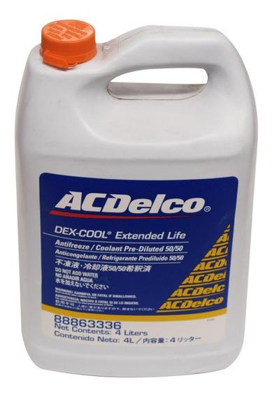 Refrigerante Dexcool 50/50 Acdelco 4 Litros