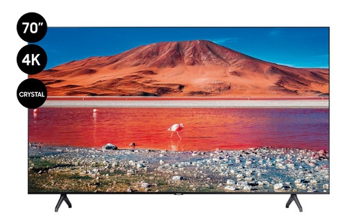 Televisor 70  Samsung Crystal Uhd 4k Smart Tv - Un70tu7000