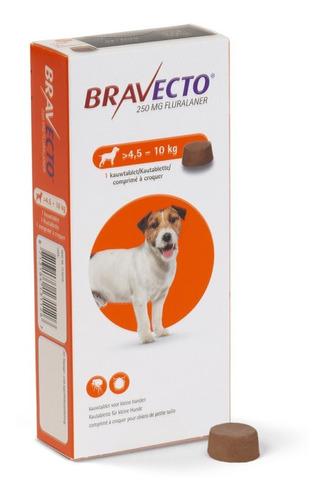 Bravecto Antipulgas Perros De 4.5 A 10 Kg