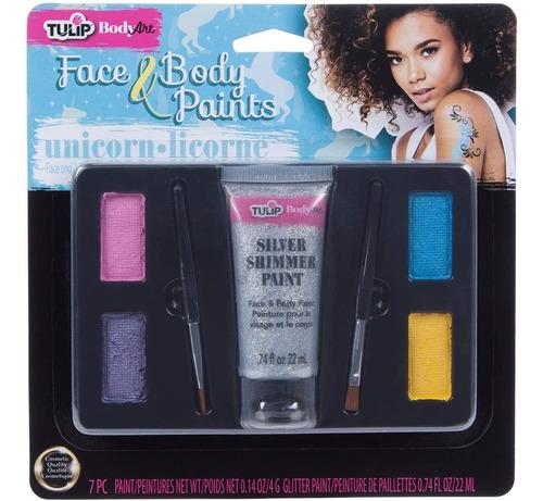 Imagen 1 de 1 de Tulip 39853 - Kit De Maquillaje Para El Cuerpo, Disfraz Y Fi