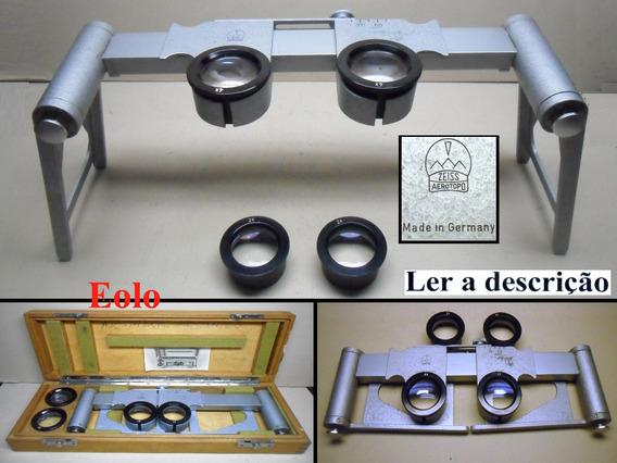 Zeiss Aerotopo Estereoscópio, Stereo 3d Aerofotogrametria