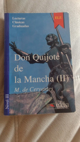 Livro: Don Quijote De La Mancha Ii Nivel Iii, Frete Grátis!