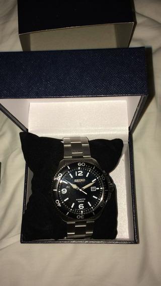 Relógio Seiko Kinetict Ska747p2 - Tam. Grande- Garantia