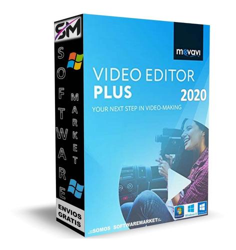 Movavi Video Editor Plus 20.4 En Esp - Crea Video Tutoriales