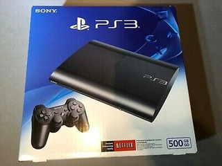 Sony Ps3 Super Slim 500gb +3 Juego Fisico Oferta 14 Febrero
