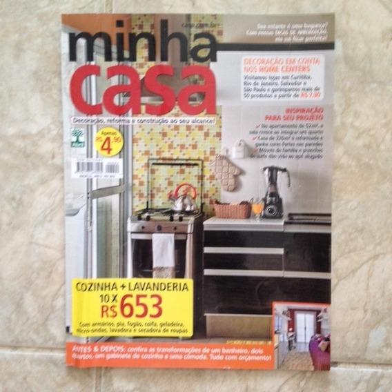 Revista Minha Casa 22 Fev 2012 Cozinha Lavanderia Apto 52m2
