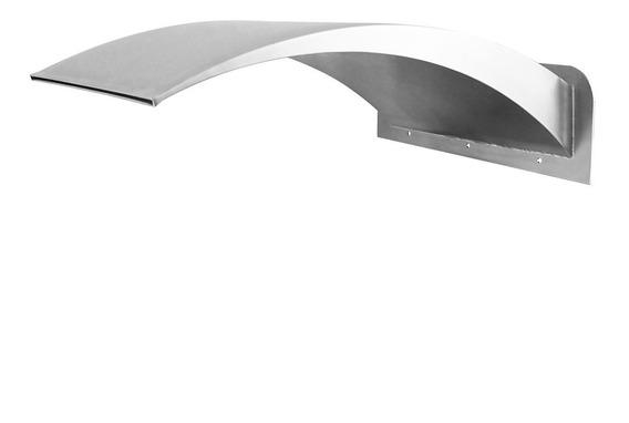 Cascata Wave De Parede Em Aço Inox 304 Medida 20x30cm