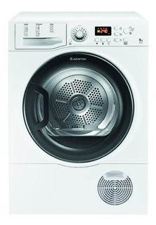 Secarropas Por Calor Ariston 9 Kg Tcf 97c 6h1 Blanco 2700w
