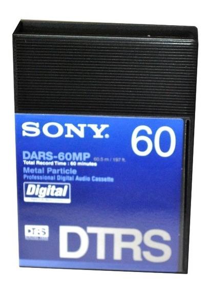 Sony Fita Audio Digital Hi8 Dtrs Dars-60mp 60 Minutos Kit 10