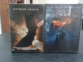 Batman-coleccion-christopher Nolan-dvd-2005