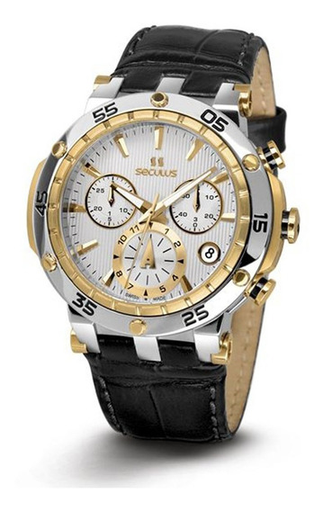 Reloj Seculus 1682.2.503d Lb 2ty W Para Dama Correa De Piel