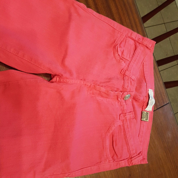Jean De Color By Hit Talle 1 Coral