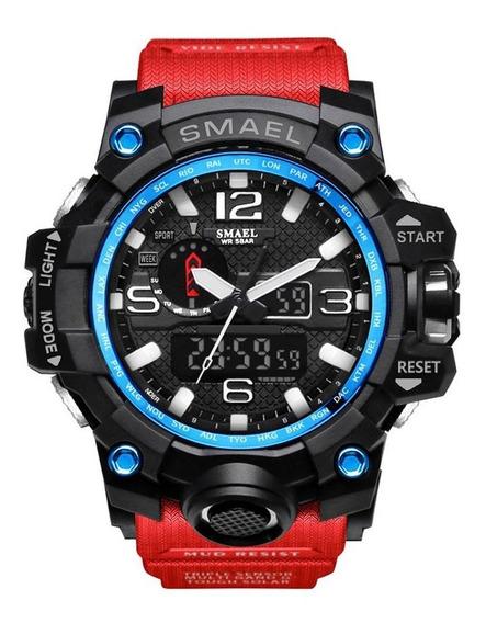 Smael 1545 Relógios Eletrônicos Inteligentes Preto E Azul Ve