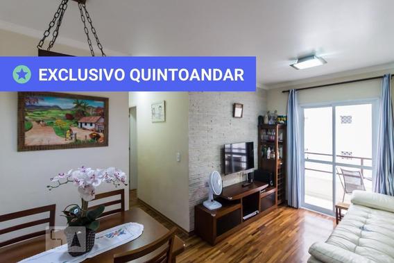 Apartamento No 2º Andar Com 2 Dormitórios E 1 Garagem - Id: 892958854 - 258854