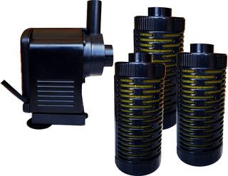 Filtro Interno Pecera Acuario Peces 1500 L/h 200-400 L 1109