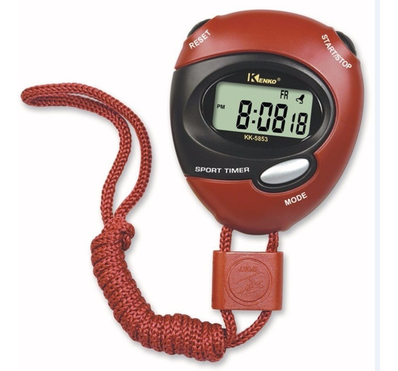 Cronometro Profesional Mide Con Exactitud Deporte Kk-5853