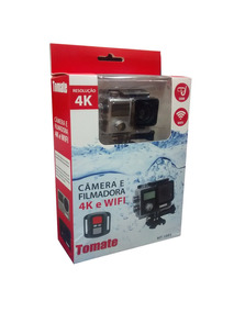 Câmera Sport 4k Wifi Controle Tomate Mt-1093k