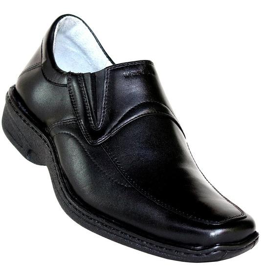 Sapato Diabeticos Masculino Social Ortopédico De Couro Conf