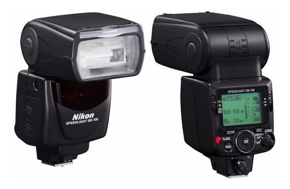 Flash Nikon Speedlight Sb-700 Usado Uma Vez Perfeito Estado