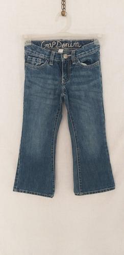 Pantalon De Jean De Nena Marca Gap Talle 5 Color Azul