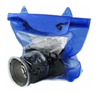 Funda Contra Agua Para Camara Profesional Canon Nikon