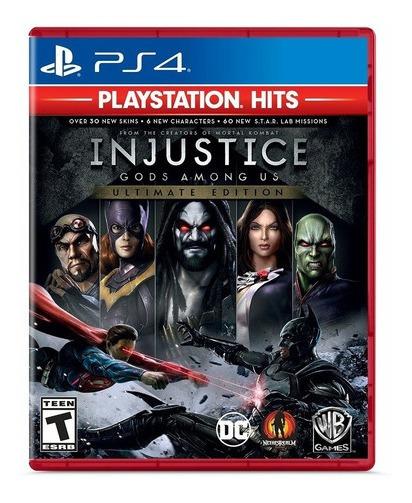 Jogo Injustice Gods Among Us Ps4 Hits Mídia Física Lacrado