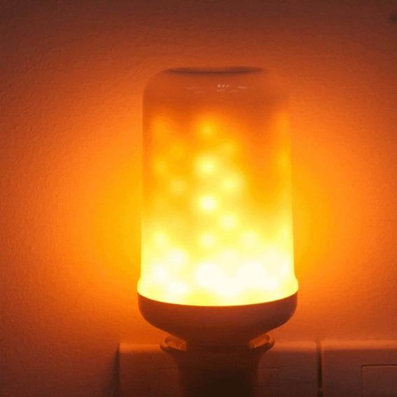 Lâmpada Led Vintage Fogo Bivolt Retrô