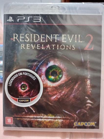 Resident Evil 2 Revelations Ps3 Novo Português Promoção!