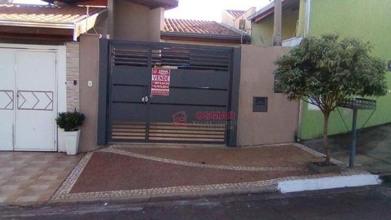 Casa Residencial À Venda, Jardim João Paulo Ii, Sumaré. - Ca0847