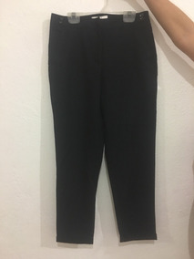 Pantalón Negro Para Mujer Barato Cortefiel