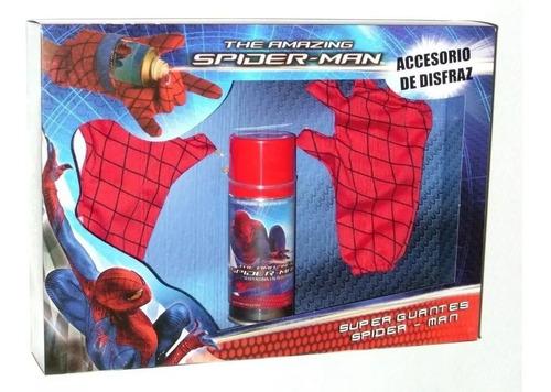 Spiderman Guantes Con Serpentina Int Cad 2009 Orig New Toys