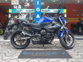 Yamaha Xj6n Abs 2018 Azul Único Dono Impecável
