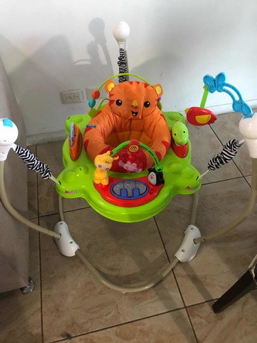 Jumper Rebotador Movil Juguetes Sonidos  Bebés Gira 360º