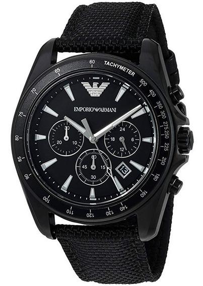 Relógio Emporio Armani Ar6131 Sport Black Nylon