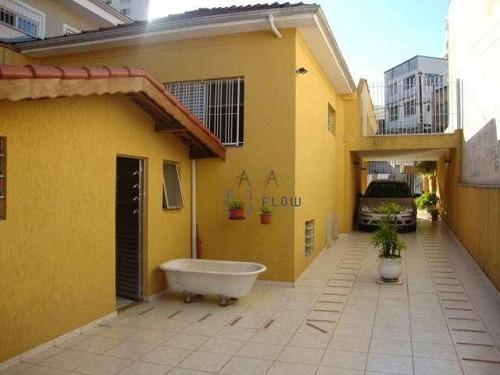 Casa Com 3 Dormitórios E 5 Vagas De Garagem - Vila Mariana - Ca1212