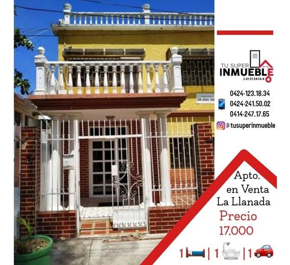 Apartamento En Venta Caraballeda (la Llanada) 1h- 1b- 1p