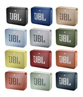 Parlante Portatil Jbl Go 2 Original Bluetooth Bt Sumergible