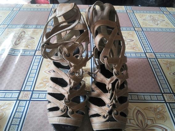 Zapatos De Marrones De Cuero 36_37