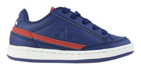 Zapatillas Le Coq Courtclay Jr Colegial Blue Red