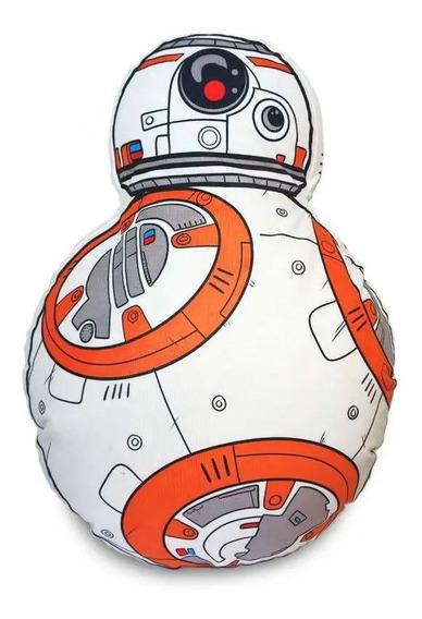 Travesseiro Almofada Star Wars Robozinho Bb8 Leia Luke Chew