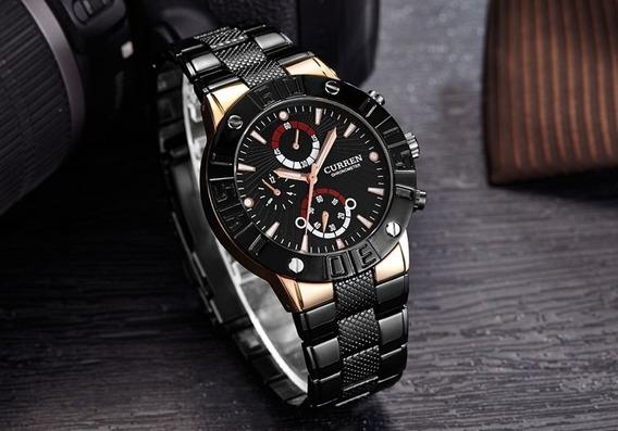 Relógio Masculino Luxo A Prova D