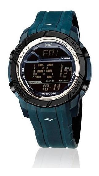 Relógio Pulso Everlast Action E701 Digital Pulseira Silicone