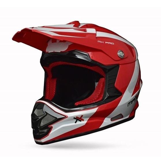 Capacete Mattos Racing Mx Pro Motocross Muito Confortável