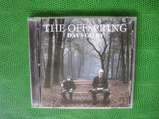 The Offspring Days Go By Cd Original 2012 Columbia Sony Rock