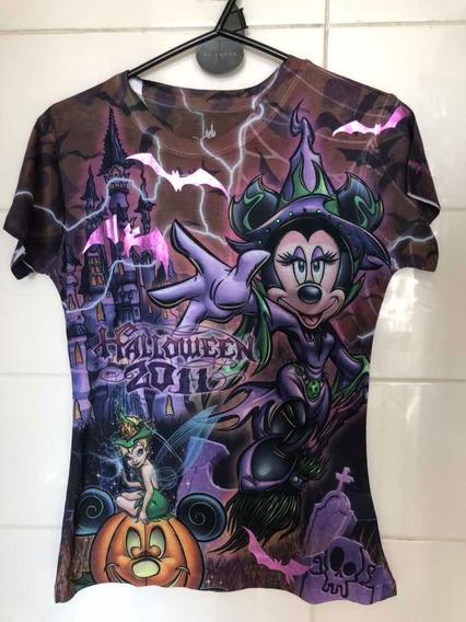 Remera Halloween Minnie