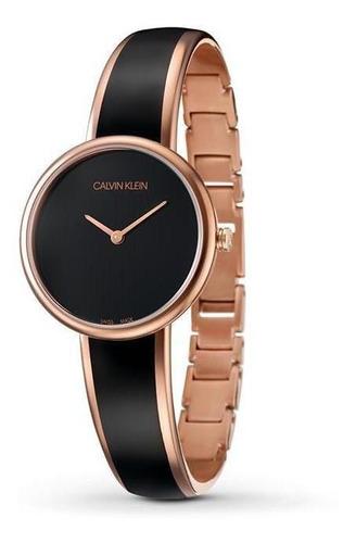 Relógio Calvin Klein - K4e2n611 Rosé Feminino